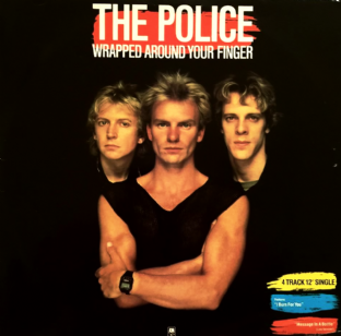 "Police (The) - Wrapped Around Your Finger (12"") (G-VG/VG+)"